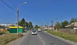 Пересечение улиц Советской Армии и Северо-Западной