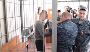 Александр Сатлаев в суде.