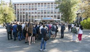 Студенты АлтГТУ.