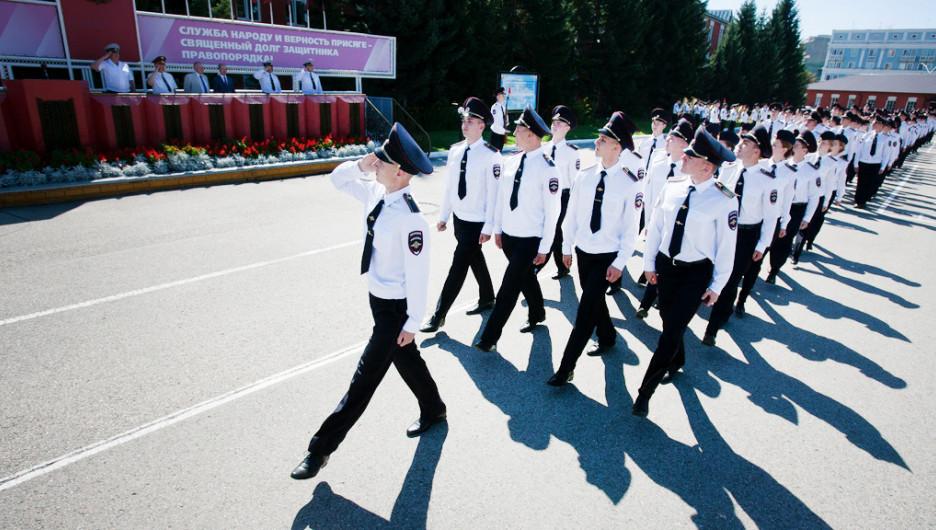 День знаний в БЮИ. Барнаул, 1 сентября 2015 года.