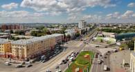Виды Барнаула с высоты 55-метровой пожарной вышки.