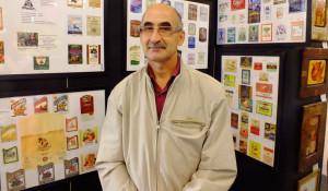 Алексей Синеев представил коллекцию про историю виноделия в Барнауле.