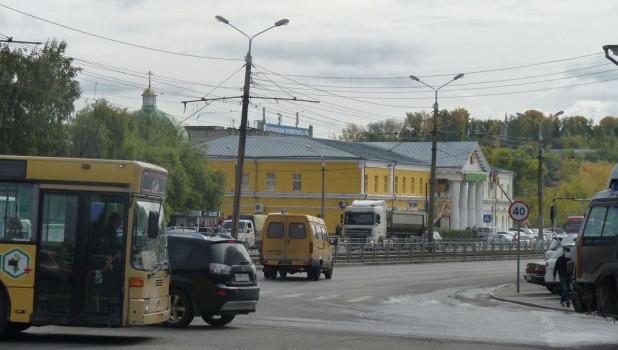 Пр. Красноармейский в районе площади Спартака.