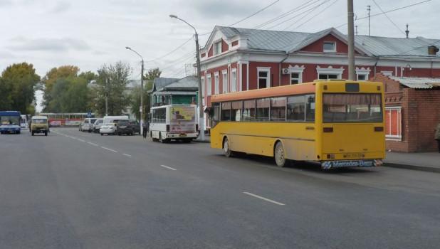 Автобусы в Барнауле.