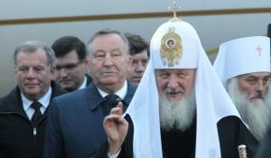 Патриарх Кирилл прибыл в Барнаул.