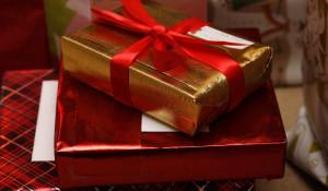 Подарок.