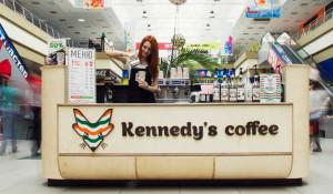 В дизайн-проекте интерьера торговой точки Kennedy`s Coffee проработаны принципы сборки оборудования для франчайзи.