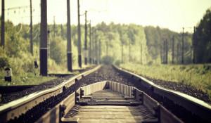 Железная дорога.