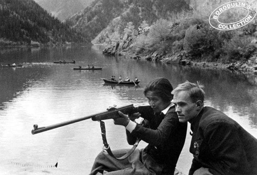 Ворошиловские стрелки. Алтай, 1937 год.