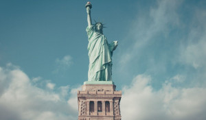 США. Статуя Свободы.