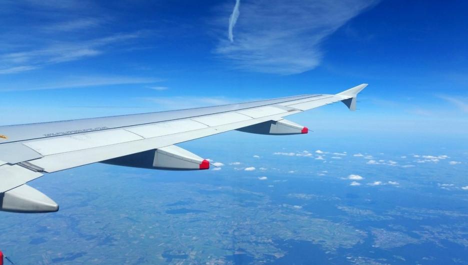 Туризм. Самолет.