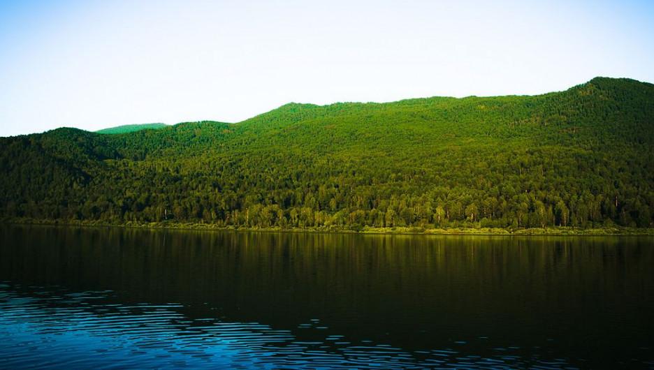 Озеро Манжерок.