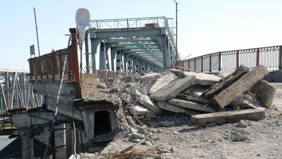В 2009 году ремонтировали Старый мост.