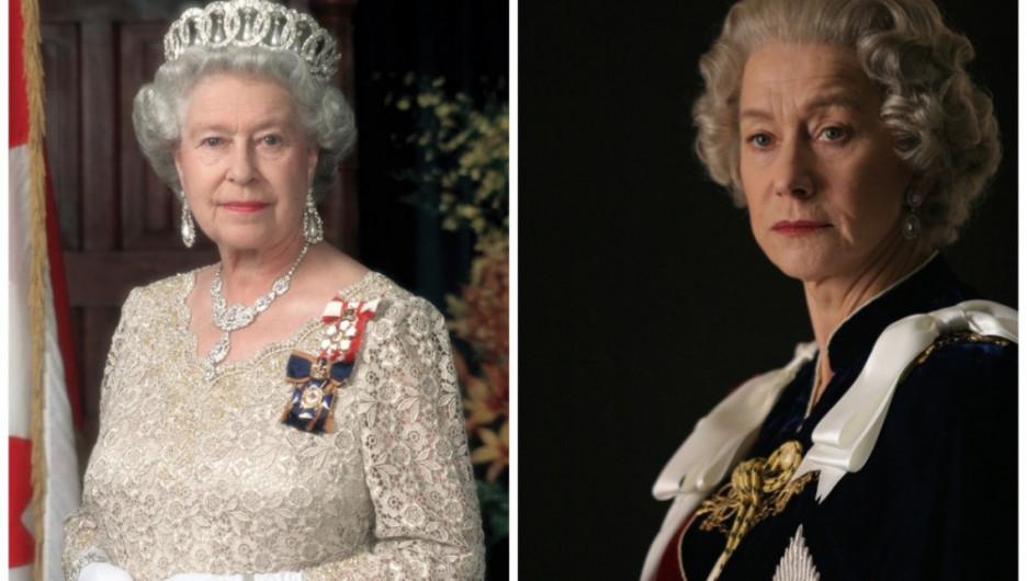 Елизавета II и Хелен Миррен, «Королева».