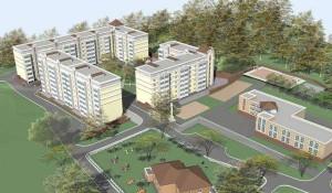 Проект жилого комплекса на проезде Канатном, 46б.