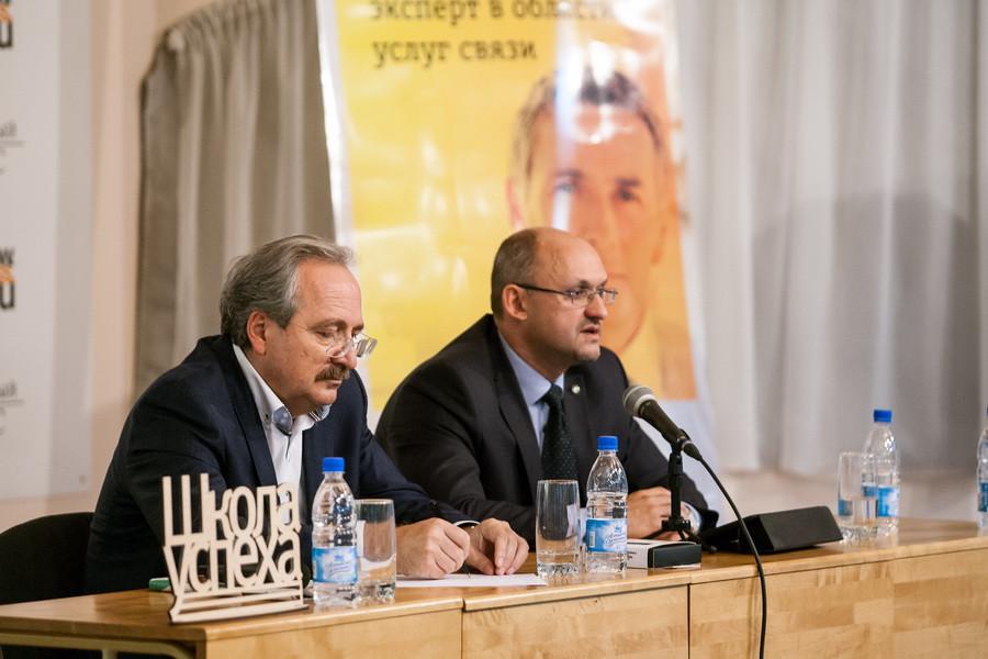 """Максим Волков стал спикером """"Школы успеха""""."""