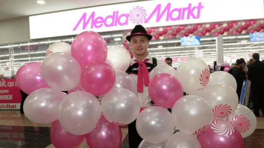 Открытие Media Markt.