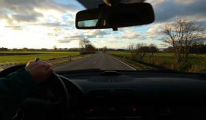 Трасса, дорога, водитель.