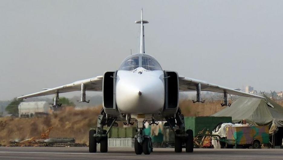 Российские самолеты в Сирии. Су-24.