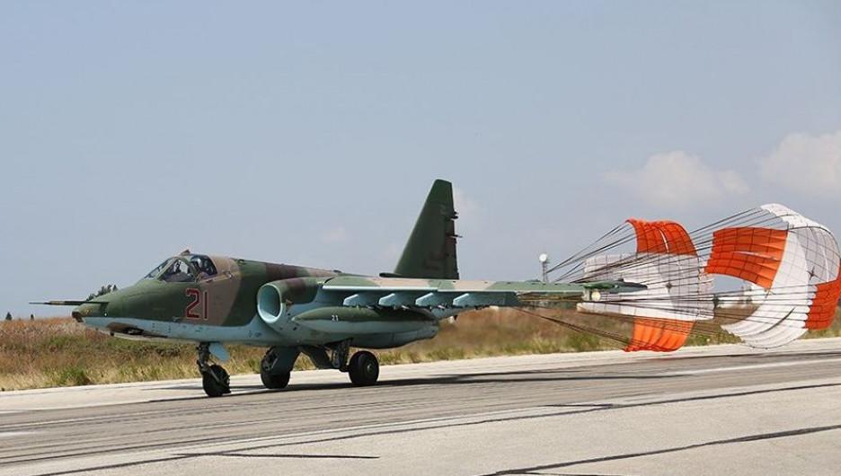 Российские самолеты в Сирии.