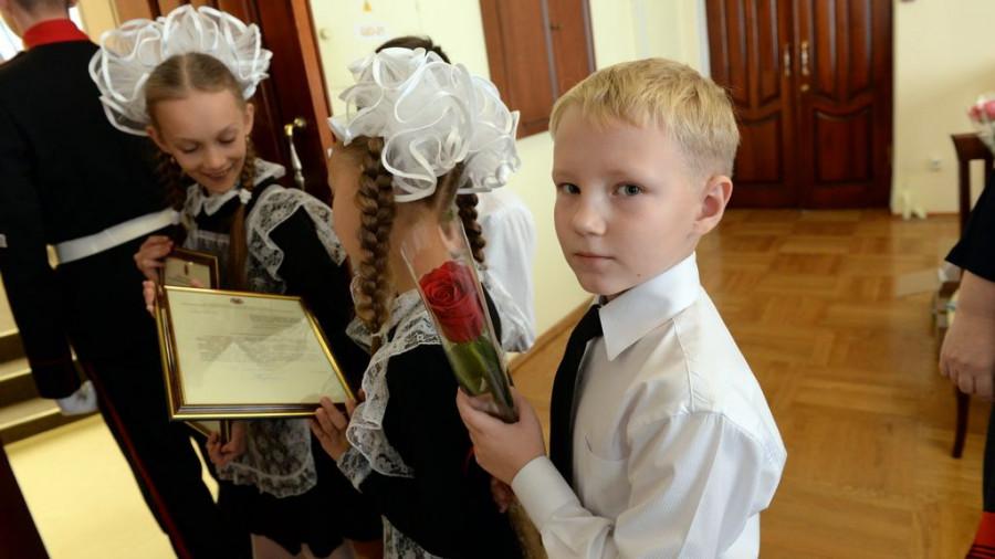Награждение учителей Алтайского края.