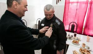 Сергею Карышеву вручили медаль Министерства обороны.