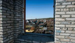 Строительство придорожного объекта в Барнауле на Змеиногорском тракте.