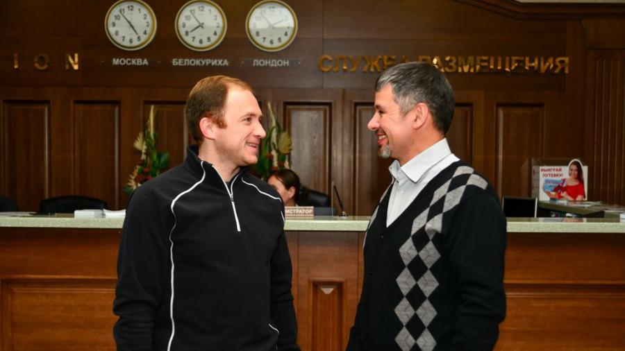 Константин Ежов и Дмитрий Рябов.