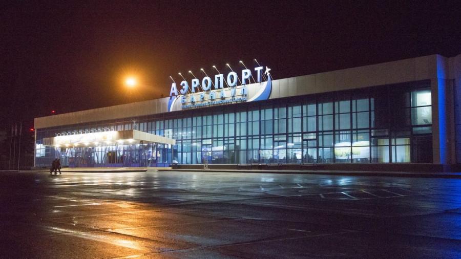 Аэропорт Барнаула.