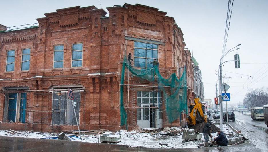 Реконструкция здания на Ленина,6.