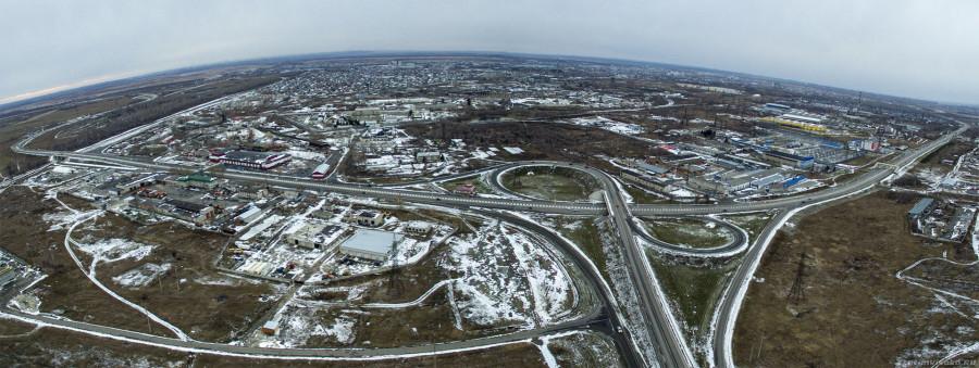4 место. пересечение Новосибирского тракта и Чуйского тракта.
