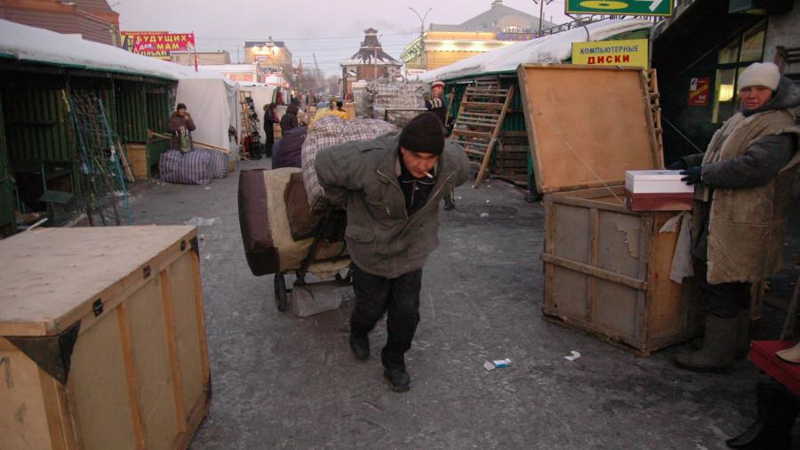 Старый базар в 2000-е годы.