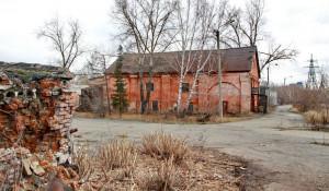 Бывшая Барнаульская спичечная фабрика (ранее здесь располагался сереброплавильный завод).