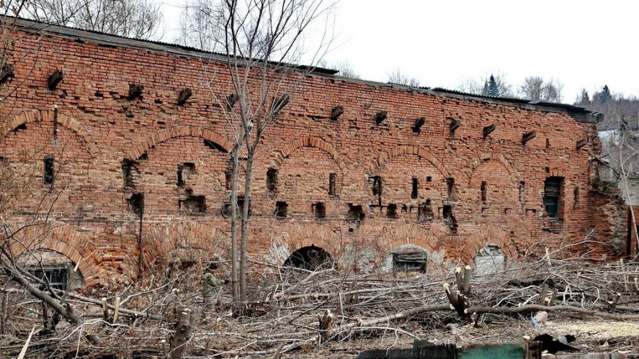 Бывший Барнаульский сереброплавильный завод (спичечная фабрика).