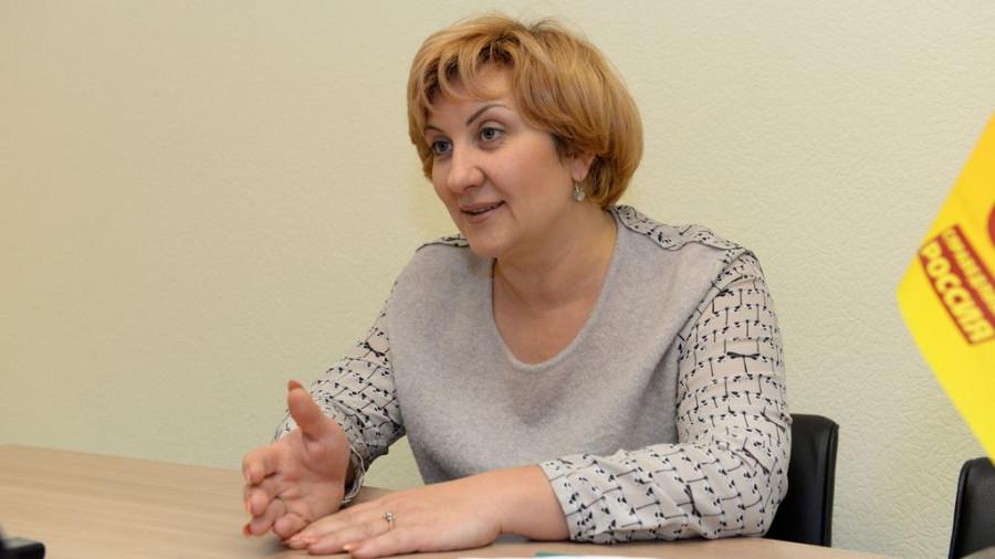 Людмила Суслова.