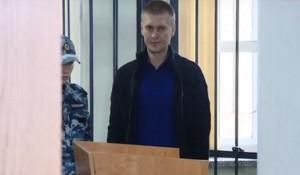 Максим Савинцев в суде.
