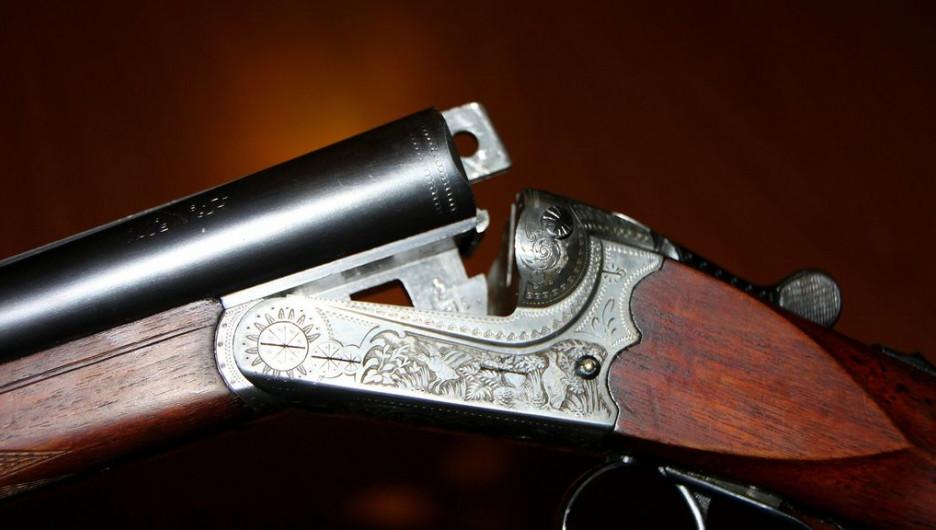 Ружье, оружие.