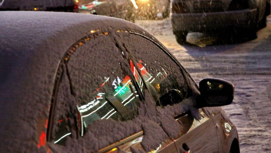 Автомобиль. Зима.