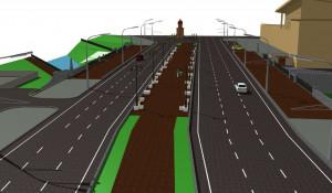 Проект реконструкции моста через Барнаулку.
