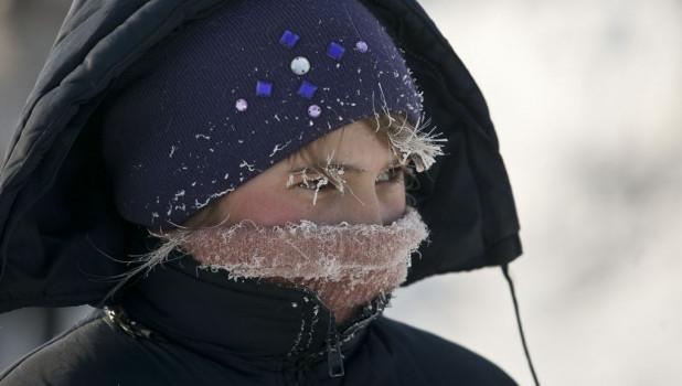 Мороз на Алтае.