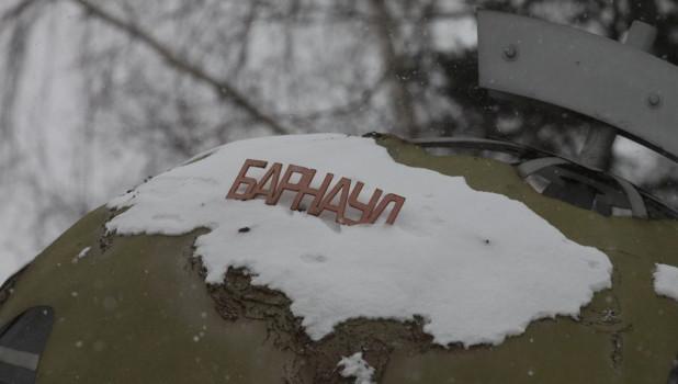 Барнаул зимой.