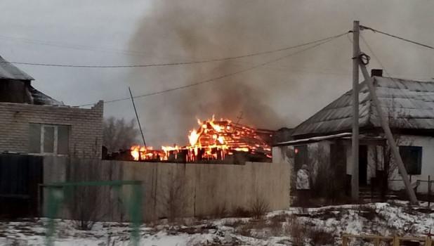 Пожар во Власихе.