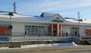 Железнодорожный вокзал Заринска.