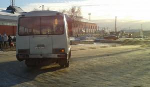 Автобус в Заринске.