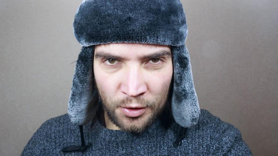 Мужчина, шапка, зима.
