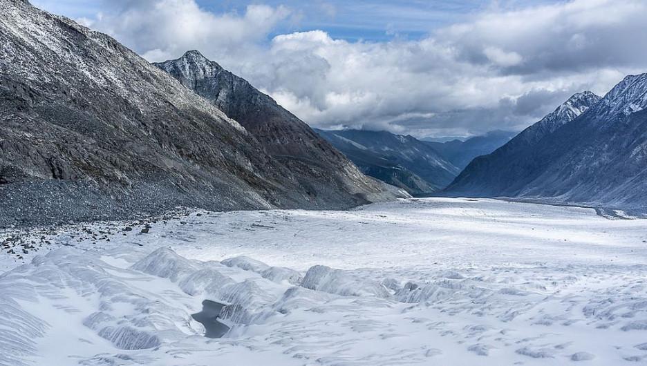 Ледники Горного Алтая.