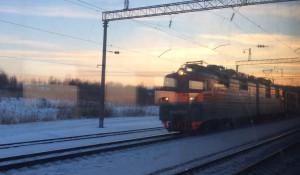 Железная дорога, поезд.