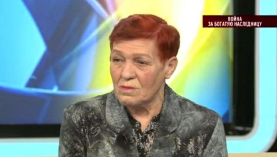 Бабушка погибшей Юлии Людмила Шашкова.