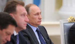 Игорь Шувалов и Владимир Путин.
