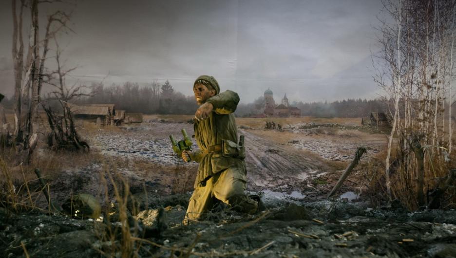 """В Барнауле открылась трехмерная панорама """"Битва за Москву"""""""